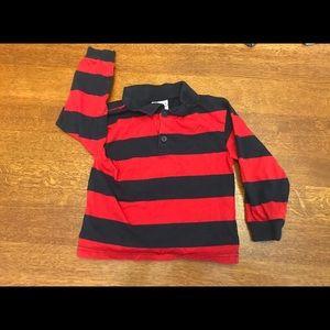 Boy's 3T Long Sleeved Polo